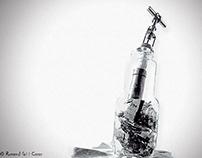 Broken Bottle !!