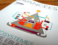 Avancées Magazine // Cover illustrations