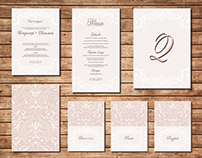 Tracery delicate wedding collection