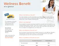 Wellness Benefit Flyer for Voya