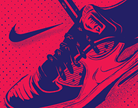 Nike tribute · Dashape BCN15