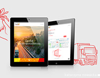 CI with illustrations for FreshQ Logistics