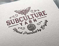 Logo Design: Subculture Yarn
