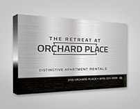 Retreat at Orchard Place Outdoor Signage
