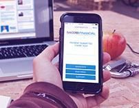 PACCAR Financial Mobile App UI/UX