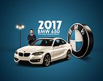 2017 BMW 650