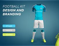 Design and Branding Al-Kifl football Academy Logo +Full