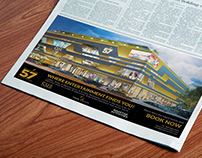 Boulevard 57 - Newspaper Ad