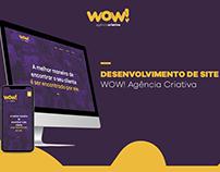 Site - WOW! Agência Criativa