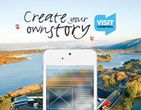 Visit Canberra Tablet Ad