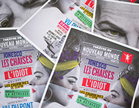 Théâtre du Nouveau Monde Saison 2017-18.