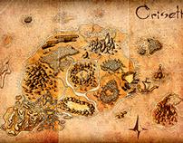 Fantasy Map - Oriseth