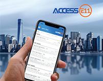 Access E11 - App