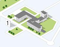 Map for Stiftung Bauhaus, Dessau