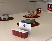 AUTOMOBILE STORE INTERIORS