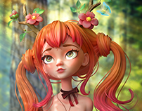 Druid Girl