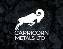 Capricorn Metals Branding, Stationery & Website