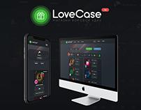 Разработка Сайта и Дизайна для www.love-case.ru #design