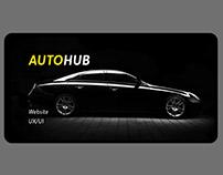 AutoHub Website - UX/UI