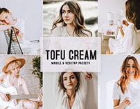 Free Tofu Cream Mobile & Desktop Lightroom Presets
