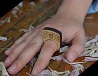 TEHUA Diseño de anillos (Acrílico y MDF)