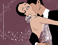 Adobe Fresco / Variation of Rene Gruau's Tango