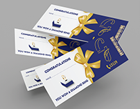 Voucher Card Design