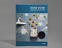 Yum Yum! Creative Food & Drink Branding Design