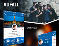 Adfall (Social Networking App)