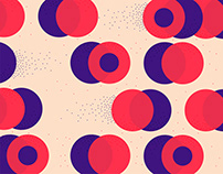 Moving geometric patterns