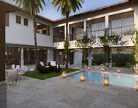 Tropical Modern Residence