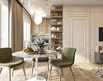 apartment in Milan for a lady