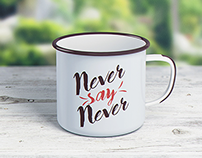 Enamel Mug / Tin Cup MockUp