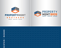 Property MGMT Brothers - Logo Design