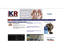 Site da KR Corretora