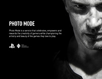 PHOTO MODE Gaming Photography Identity Campaign