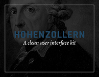 Hohenzollern UI Kit - Free .psd Download