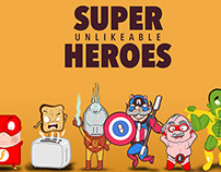 Super Unlikeable Heroes