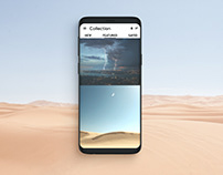Picture Collection UI Design
