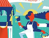 Illustrative flyer 'Wijkheld'