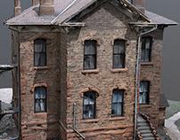 Fairplay, Colorado stone building