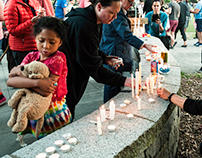 Vigil for Orlando - June 12, 2016 - Seattle