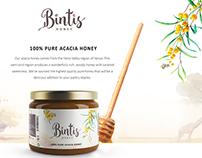 Bintis Foods - Landing Page