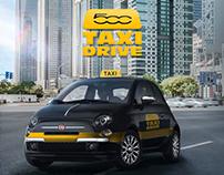 Fiat - 500 Taxi Drive