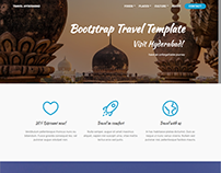 Travel Hyderabad - a travel web template