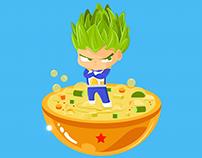 Super Sayans' Superfoods Saga