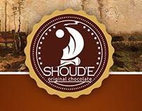 """Logo for chocolade candies """"Shoud'e"""""""
