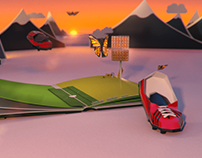 Norway's Football Association - 3D Paper Cut Animation