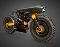 Cyberpunk Motorbike Free Model