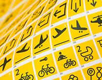 FF Transit Pictograms – Specimen Poster